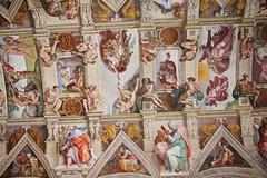 La Cappella Sistina (Marco Piumini) Tags: vatican rome roma art architecture italia arte chapel musei il museums michelangelo judgment cappella sistine italiy vaticani buonarroti sistina universale giudizio