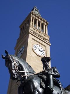 Brisbane, Hôtel de ville, Tour de l'horloge