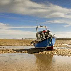Beached # 2 (Katybun of Beverley) Tags: boat beached meols thewirral