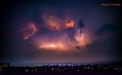 The Wrath of Zeus (Hafizul I Choudhury) Tags: city storm night clouds thunderstorm dhaka lightning