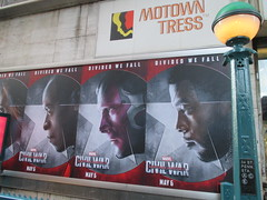 Captain America Civil War Sidewalk Billboard 2016 ADs 181 (Brechtbug) Tags: world street new york city nyc chris winter two 3 america ads movie subway poster soldier book three evans war theater comic sam sebastian theatre near steve entrance super joe ironman tony billboard lobby stan sidewalk v civil ii ave captain hero falcon anthony billboards wilson shield vs rogers marvel stark 7th barnes bucky russo the 2016 36th standee 04142016