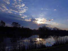 Frhlicher Sonnenaufgang / Joyful Sunrise (swetlanahasenjger) Tags: deutschland sonnenaufgang greifswald nwn mecklenburgvorpommern coth ryck saariysqualitypictures ruby5 16042016