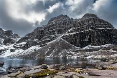 Sail Mhor (Neillwphoto) Tags: snow mountains water clouds landscape rocks outdoor hills mountainside corrie torridon lochan beinneighe sailmhor coiremhicfhearchair