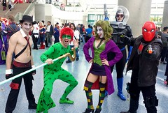Wondercon 2016: DC Comics (westcowing10) Tags: cosplay dccomics wondercon harleyquin redhood crossplay thejoker theriddler msfreeze dccosplay dcvillains cosplayphotography dcvillians comiccosplay thejokercosplay mrfreezecosplay wondercon2016