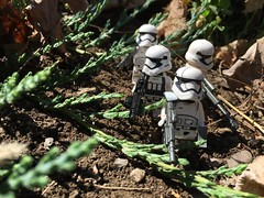Patrols are for your safety. (kevinmboots77) Tags: starwars lego stormtroopers firstorder legography