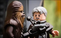 """I like this thing."" (Alan Rappa) Tags: toys starwars lego stormtrooper chewbacca hansolo minifigures tweetme theforceawakens"