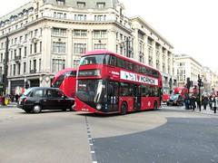 LT21, Oxford Circus, London, 25/02/16 (aecregent) Tags: london wright hybrid lt oxfordcircus 390 metroline nb4l nbfl newroutemaster lt21 comfortdelgro newbusforlondon borismaster ltz1021 250216 londonbuses2016