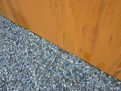 Corten - Schiefer multicolor (Jrg Paul Kaspari) Tags: spring steel slate rost garten multicolor pur frhling verbindung stahl schiefer moderner wincheringen moderngarden stahlwand