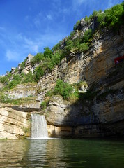 Mirusha Waterfalls (aleta.weber) Tags: summer sky sun green water waterfall hill kosovo balkans kosove mirusha