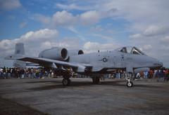 A-10A Thunderbolt II (Pentakrom) Tags: 1993 usaf fairchild warthog a10 fairford thunderbolt iat