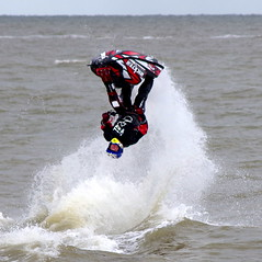 The loop. (pstone646) Tags: sea people man water kent upsidedown loop jetski stunt