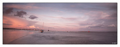 L1001969 (robert.french57) Tags: leica old sunset sea two sky seascape tree robert lens french landscape boats island lowlight bob m f16 24mm leigh essex summilux southend 57 240 d15