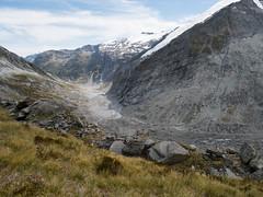 Dart (Tom@Where) Tags: park newzealand panorama mountains river landscape scenery track outdoor hiking glacier trail national nz cascade tramping dart moraine rees aspiring mountaspiring cascadesaddle