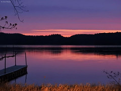 DSCN8364-2WM (moon_hunter2014) Tags: sun lake sunrise dawn bay vermont lakechamplain malletsbay