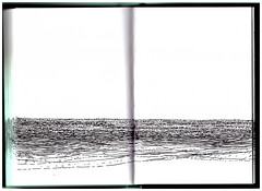 Caderno de Ondas (Mrcio.Diegues) Tags: ocean sea art landscape book mar drawing contemporary natureza sketchbook paisagem livro draw caderno artistsbook artecontemporanea livrodeartista desenhocontemporaneo marciodiegues