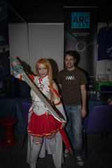 Insomnia 30-04-2016--33 (Philip Gillespie) Tags: costumes red white black colour up field contrast canon computer children photography prime scotland costume edinburgh dof play dress purple princess cosplay flash indoor games gaming event le kawaii insomnia depth tartan multiplay sequent insomniascotland cuirot alduts