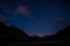 Starry, starry night (Borderli) Tags: longexposure sky stars scotland nightsky schottland langzeitbelichtung glennevis sternenhimmel