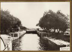 Fox River, Governor's Bend Locks, 1913