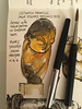 Mlle Pogany - Costantin Brancusi (matteotarenghi) Tags: new york urban art modern sketching moma watercolors matteo brancusi costantin mlle pogany tarenghi tumblr urbansketchers