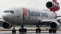 "PH-MCU | McDonnell Douglas MD-11F | Martinair Cargo ""Prinses Mxima"" (cv880m) Tags: holland miami mia douglas flap m11 freighter md11 mcdonnell martinair trijet md11f aircargo kmia prinsesmxima phmcu ramptour aviationaward flap2016"