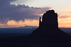 Good Morning Mitten! (Bengal Thrush) Tags: light arizona monument nature beautiful beauty silhouette sunrise utah ut natural native illumination valley navajo monumentvalley goldenhour mitten