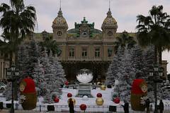 Monte Carlo.  Christmas decoration (NataThe3) Tags: christmas france outdoors decoration casino montecarlo monaco