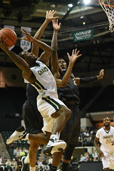 MBasketball-vs-UAB, 1/16, Chris Crews, DSC_5902 (Niner Times) Tags: basketball birmingham university charlotte alabama 49ers mens ncaa unc d1 blazers uab uncc ninermedia