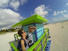 South Beach - Miami Beach, Florida (--Eli--) Tags: trip travel rescue usa sun holiday beach colors america florida miami unitedstatesofamerica guard miamibeach ontheroad southbeach baywatch oceano sobe atlantico biscaynebay miamidade statiuniti salvataggio bagnini gopro goprohero3 straitsofflorida stateofsunshine