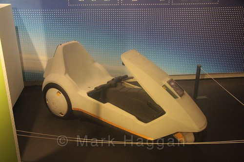A Sinclair C5 at Coventry Transport Museum