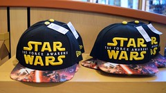 Disneyland Visit - 2016-01-24 - World of Disney - Star Wars Merchandise - Caps (drj1828) Tags: california starwars disneyland visit merchandise anaheim dlr downtowndisney 2016 worldofdisney theforceawakens