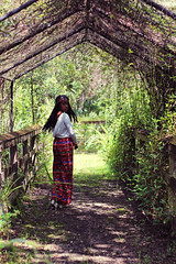 Forseen (courtneyrenee) Tags: trees wild woman motion black green nature beauty fashion turn pose movement model pretty florida earth south mother indie everglades hippie greenery beatiful floridaeverglades estates inmotion haitian