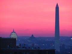 Washington, D.C., morning of 1/22/16 (Dan_DC) Tags: capitol pink dome sunrise washingtondc crackofdawn morning serene vibrantcolor rosa