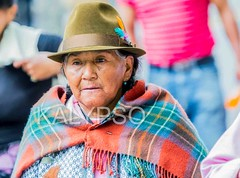 Portrait Of An Old Indigenous Woman (kalypsoworldphotography) Tags: santa street old city portrait people woman heritage southamerica senior face look hat rural clothing ecuador sad skin grandmother outdoor mark traditional feather culture streetphotography human national elderly age latin elder andes editorial lonely sickness aboriginal retired citizen impressive equator indigenous andean retiree deterioration diseases pensioner banosdeagua biologicalstage