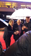 Frank Williams at the Premiere of Dad's Army at Odeon Leicester Square (Julie Ramsden) Tags: leicestersquare premiere odeon dadsarmy frankwilliams