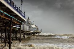 Pier Pressure (Eddie Hyde) Tags: sea storm beach sussex pier eastbourne