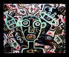 Menno Krant painting (Menno Krant) Tags: toronto canada art dutch self painting artist outsider canadian painter menno krant taught mennokrant
