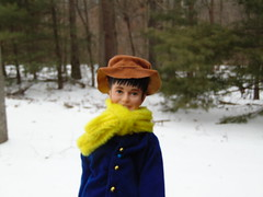 Kjugelec Family Snow Days (poplinholly) Tags: boy snow snowy ken barbie harry potter harrypotter snowfall harryinsnow harryinwoods