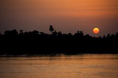 Sunset (impodi@gmail.com) Tags: africa sunset rio atardecer paisaje panoramica egipto aswan luxor nilo