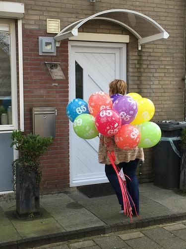 Heliumballonnen 65 Jaar