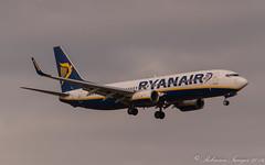 Ryan Air Boeing 737-8AS EI-EBV (.Robinson Images) Tags: uk airplane scotland flying airport transport aeroplane boeing ryanair publictransport prestwick ayrshire 7378as eiebv
