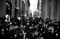 MyTubeNYC (MyTubeNYC ( Gediminas Jankevicius )) Tags: street city nyc portrait people urban bw newyork motion monochrome underground mono photo uniform noir candid streetphotography nypd clash hardcore noise blackwhitephotos mytubenyc gediminasjankevicius