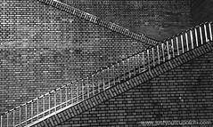 Shinjuku (justyourcofchi) Tags: city travel blackandwhite bw japan wall canon dark tokyo shinjuku pattern cityscape bricks culture wanderlust traveling bnw 2014 nightbus g15 chiarnold justyourcupofchi