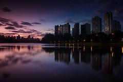 Igapó lake / Lago Igapó (marcelo.guerra.fotos) Tags: lake color nature brasil night clouds river londrina igapó lagoigapó igapólake