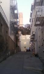 Medau Place, Krausgrill Place, North Beach (sftrajan) Tags: sanfrancisco coittower northbeach telegraphhill medauplace krausgrillplace krausgrillalley