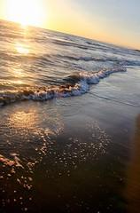 (We the Living Photography) Tags: ocean sunset sea summer italy beach sicily mediterranian scoglitti