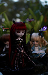 Magical Meeting (dreamdust2022) Tags: cute sexy girl angel happy hug kiss doll child heart little innocent dream young evil sparrow fallen pullip charming scared pure magical playful elisabeth weak leilani lenore knotty temptress lusting podo yeolume