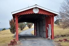 Covered bridge-Livonia (iluvweknds) Tags: county rural missouri coveredbridge mendota livonia unionville putnamcounty