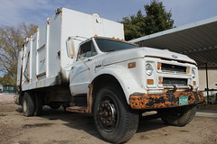 Chevrolet / Gar Wood (Scott (tm242)) Tags: classic chevrolet trash dumpster truck garbage junk colorado side debris rear disposal front bin management rubbish trucks fl waste refuse recycle loader removal recycling load hopper garwood rl haul msl lp700 lp720