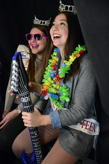 chocolate-br-020716_7257 (newspaper_guy Mike Orazzi) Tags: girls silly smile sunglasses bristol fun happy nikon photobooth expo chocolatefestival d7100 18140mmf3556g