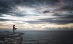 Freeze frame (tara.bowen) Tags: cliff sunrise canon sydney australia nsw northhead headland bluefishpoint